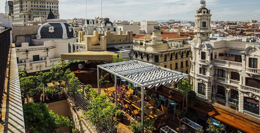 Los Mejores Rooftop De Madrid Abc Serrano